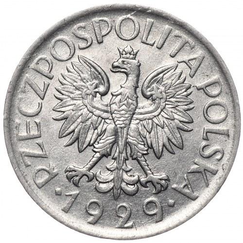 II Rzeczpospolita, 1 złoty 1929, Warszawa