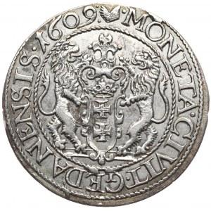 Zygmunt III Waza, ort 1609, Gdańsk, rzadkość