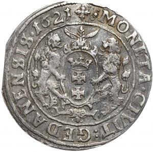 Zygmunt III Waza, ort 1621, Gdańsk