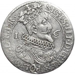 Zygmunt III Waza, ort 1624/3, Gdańsk, inna interpunkcja