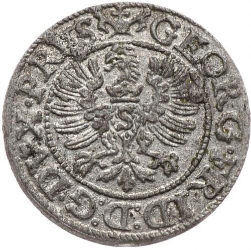 Prusy Książece, Jerzy Fryderyk, szeląg 1591, Królewiec