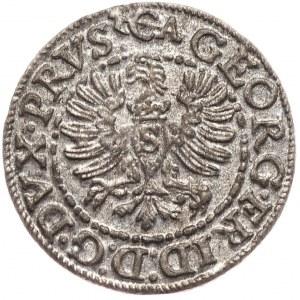 Prusy Książece, Jerzy Fryderyk, szeląg 1595, Królewiec