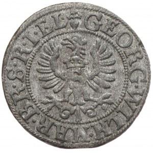 Prusy Książece, Jerzy Wilhelm, szeląg 1625, Królewiec