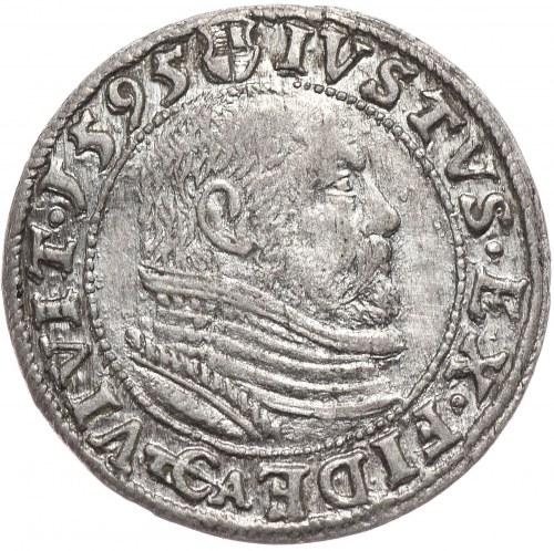 Prusy Książece, Jerzy Fryderyk, grosz 1595, Królewiec