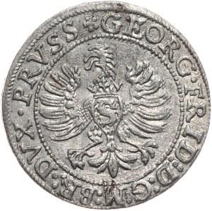 Prusy Książece, Jerzy Fryderyk, grosz 1596, Królewiec