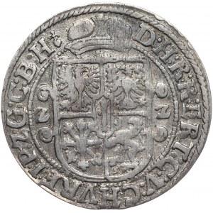 Prusy Książęce, Jerzy Wilhelm, ort 1622, Królewiec, popiersie bez mitry, WILHEL ... BRAN.