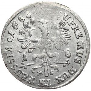 Prusy (księstwo), Fryderyk Wilhelm, ort 1684 HS, Królewiec