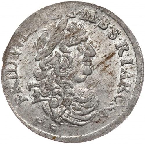 Prusy Księstwo, Fryderyk Wilhelm, szóstak 1683, Królewiec