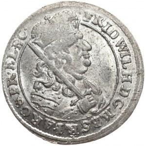 Prusy (księstwo), Fryderyk Wilhelm, ort 1682 HS, Królewiec