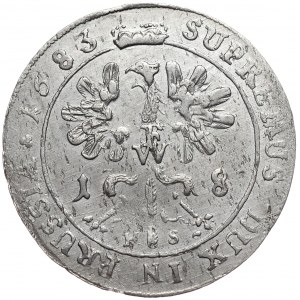 Prusy (księstwo), Fryderyk Wilhelm, ort 1683 HS, Królewiec