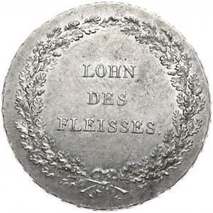 Niemcy, Bawaria, półtalar nagrodowy bez daty.