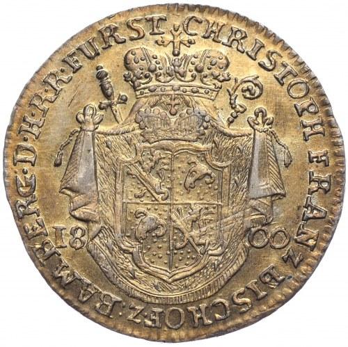 Niemcy, Bamberg, 20 krajcarów 1800