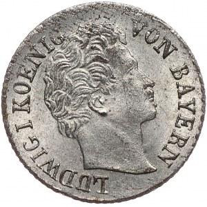 Niemcy, Bawaria, 1 krajcar 1855
