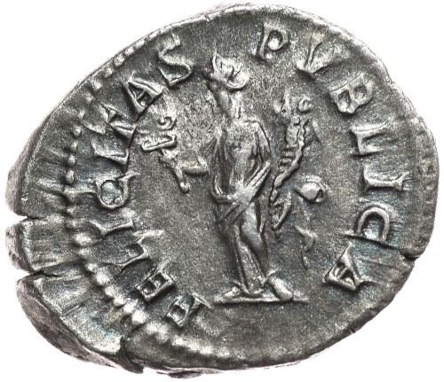 Starożytny Rzym, denar Geta 209-212r. n.e.