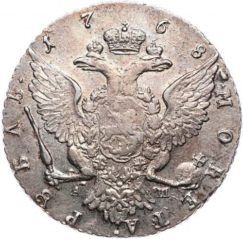 Rosja, Katarzyna II, rubel 1768, Petersburg