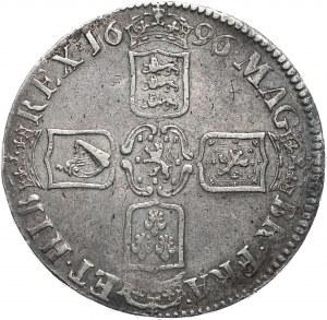 Anglia, Wilhelm III, korona 1696, Londyn