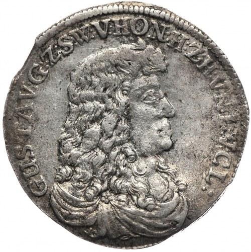 Niemcy, Sayn, Gustaw von Wittgenstein 1657-1701, 2/3 talara 1676
