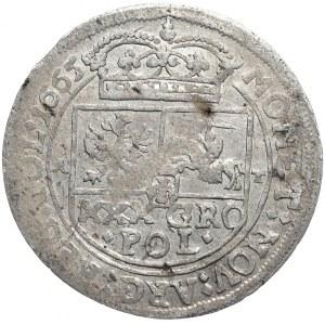 Jan Kazimierz, tymf 1665, Kraków, SERVATA.SALV