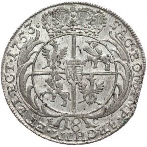 August III, ort 1753 EC, Lipsk