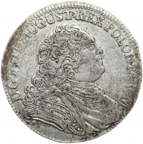 August III, 1/3 talara 1755 FWoF, Drezno