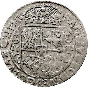 Kolekcja ortów polskich, ort 1622, Bydgoszcz, PRVS.M+, gwiazdki u podstawy korony