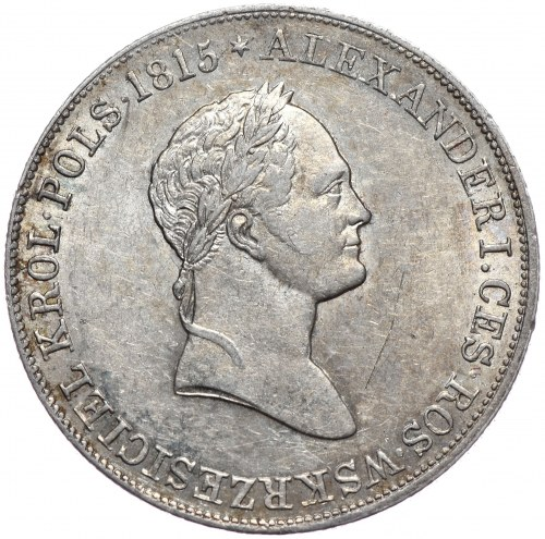 Królestwo Kongresowe, Mikołaj I, 5 złotych 1830 KG, Warszawa