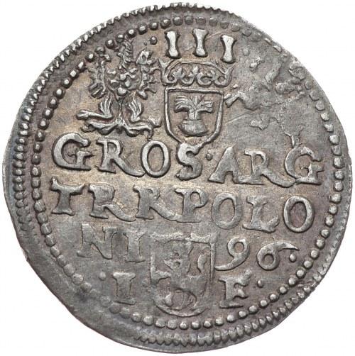 Zygmunt III Waza, Trojak 1596, Olkusz