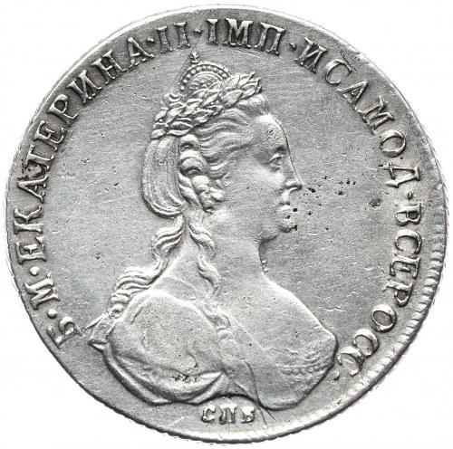 Rosja, Katarzyna II, rubel 1780 СПБ И3, Petersburg