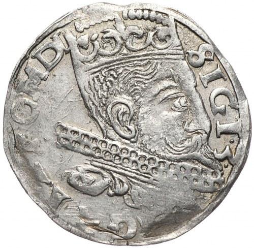 Zygmunt III Waza, trojak 1598, Wschowa, pełna data