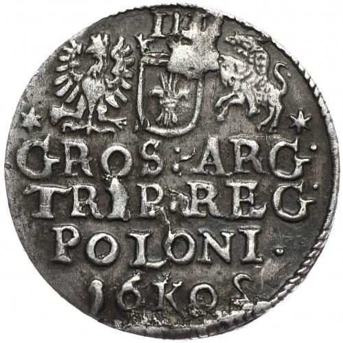 Zygmunt III Waza, trojak 1602, Kraków