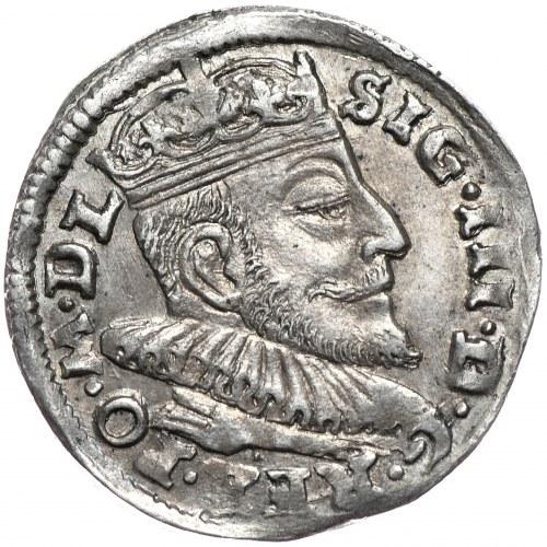 Zygmunt III Waza, trojak 1592, Wilno