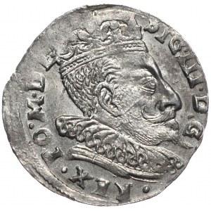 Zygmunt III Waza, trojak 1596, Wilno