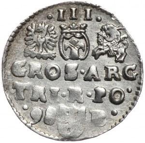 Zygmunt III Waza, trojak 1598, Bydgoszcz, hybryda
