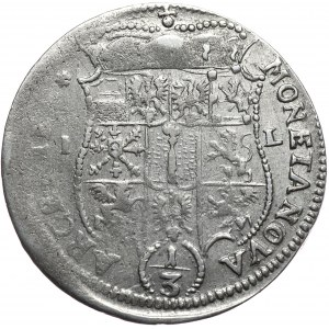 Prusy Księstwo, Fryderyk Wilhelm, 1/3 talara 1672 IL, Berlin