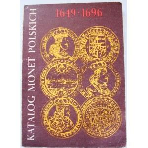 Czesław Kamiński, Janusz Kurpiewski, Katalog monet polskich 1649-1696