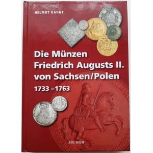 Helmut Kahnt Die Münzen Friedrich Augusts II. von Sachsen/Polen 1733 - 1763, katalog monet Augusta III Sasa