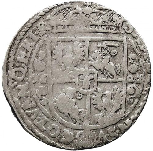 Kolekcja ortów polskich, ort 1622, Bydgoszcz, PRV.M/ REX.PO, szeroka korona, z błędami