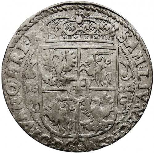 Kolekcja ortów polskich, ort 1622, Bydgoszcz, PRV.M.+, wczesny typ