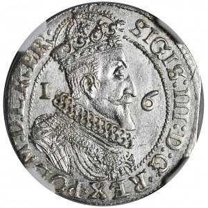 Zygmunt III Waza, ort 1624/3, Gdańsk, podwójnie nabita litera R na końcu napisu na awersie