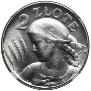 2 złote 1925 bez kropki, Filadelfia