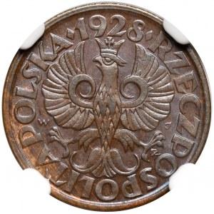 2 grosze 1928