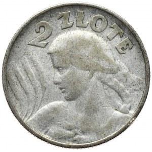 2 złote 1924, litera H, Birmingham