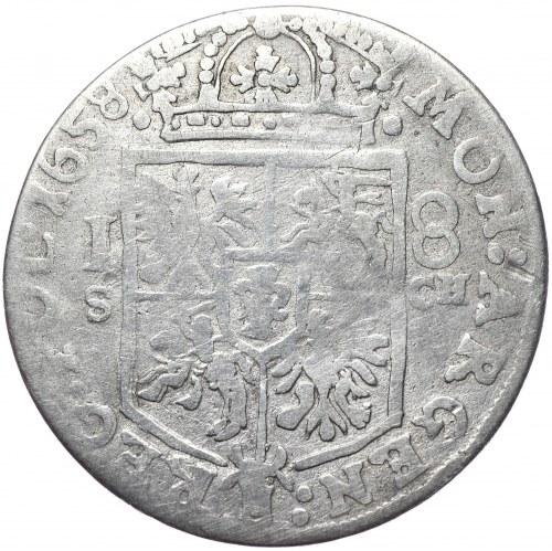 Jan Kazimierz, ort 1658, Kraków