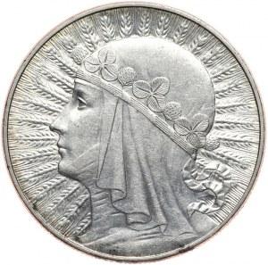 10 złotych 1933 kobieta