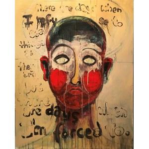 Anna Sikora, I refuseI (autoportret z aureolą)