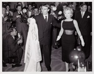 Milton H. Greene, Marilyn Monroe, Savoy Hotel, London, 1956