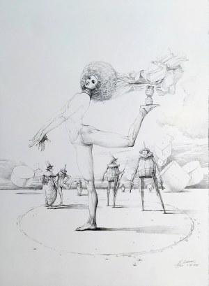 Wojtek Siudmak, Woltyżerka bez butów, 2019