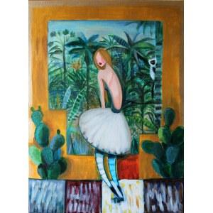 Berenika Korecka - Sowińska, Tancerka z egzotycznym pejzażem