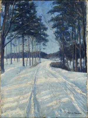 Wiktor Korecki (1897-1980), Las zimą,I poł. XX w.