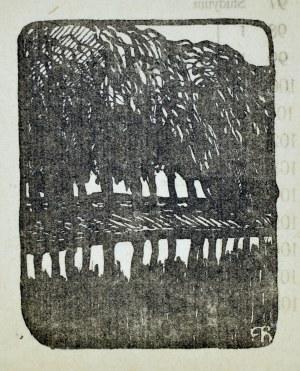 Ferdynand Ruszczyc (1870-1936), Pejzaż z drzewami
